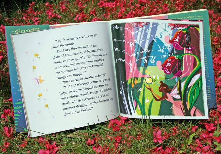 Page from Piccadilly and The Fairy Polka by Lisa Anne Novelline Illustration by Phillip Light