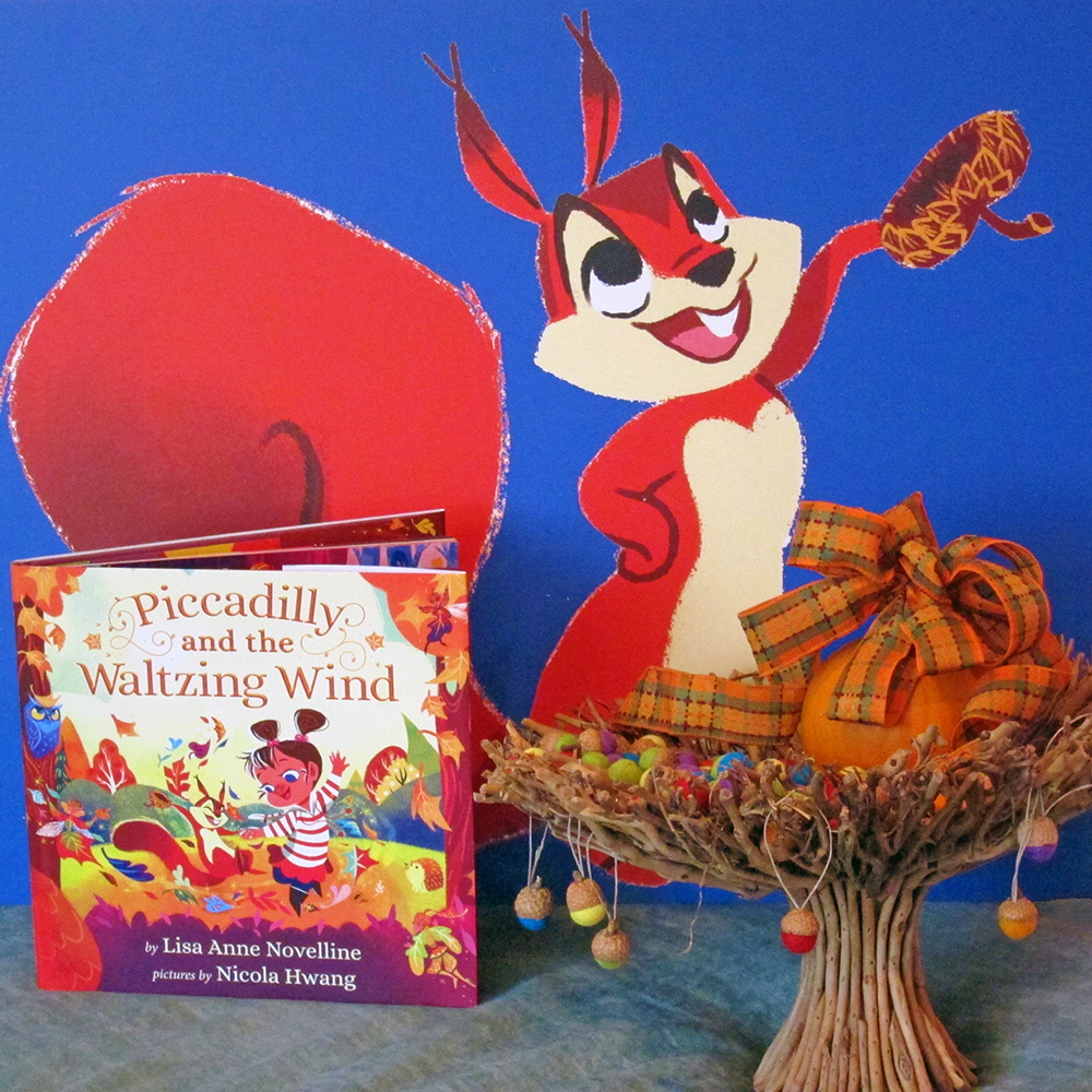 Piccadilly and the Waltzing Wind by Lisa Anne Novelline and Bartleby Image by Nicola Hwang