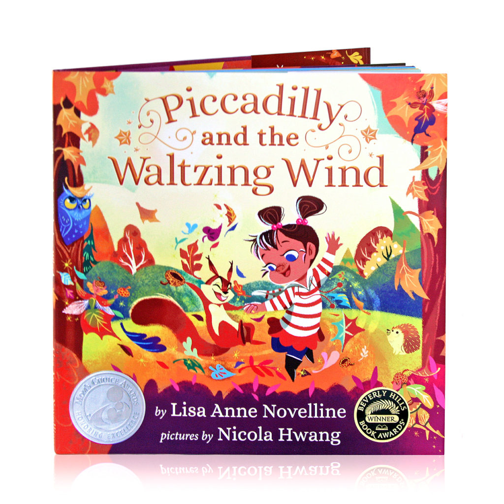 Hardcover Piccadilly and the Waltzing Wind by Lisa Anne Novelline, Pictures by Nicola Hwang