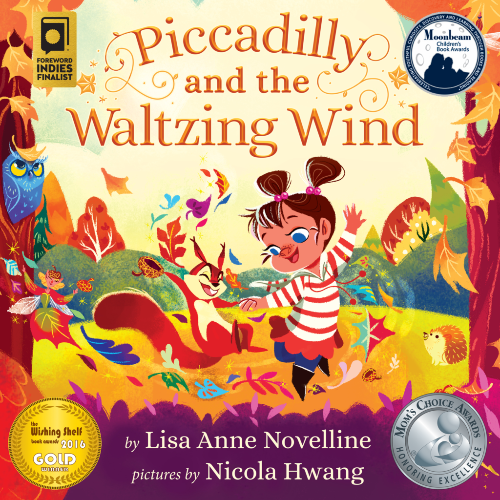 Piccadilly and the Waltzing Wind by Lisa Anne Novelline; Pictures by Nicola Hwang